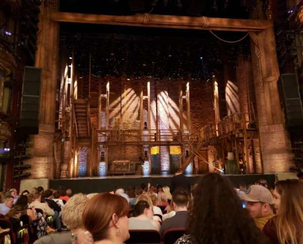 CIBC Theatre, vak: Orchestra C, rij: P, stoel: 102