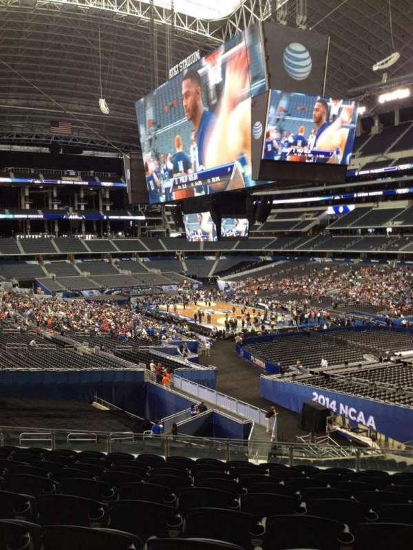AT&T Stadium, vak: 203, rij: 15, stoel: 10