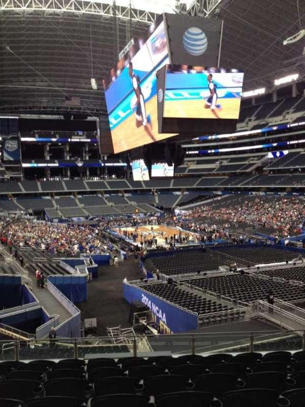 AT&T Stadium, vak: 202, rij: 11, stoel: 10