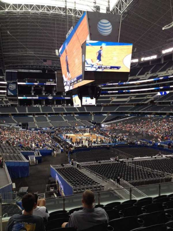 AT&T Stadium, vak: 201, rij: 9, stoel: 10