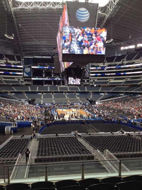 AT&T Stadium, vak: 250, rij: 8, stoel: 12