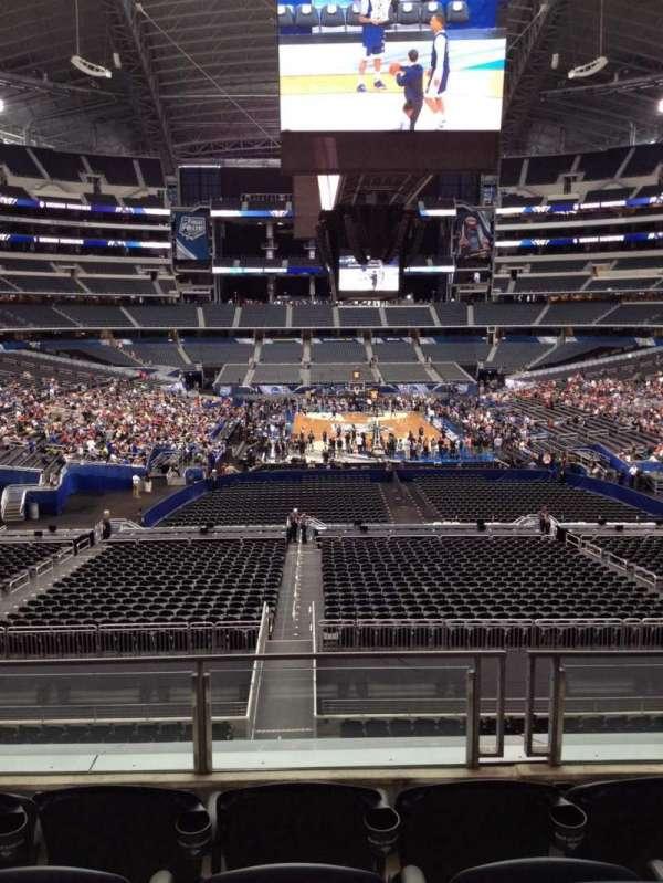 AT&T Stadium, vak: 249, rij: 6, stoel: 7