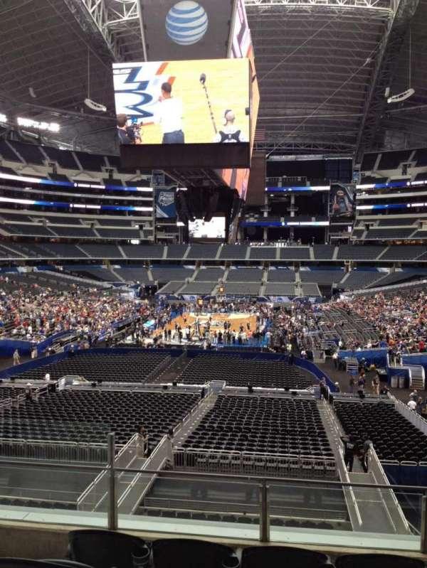 AT&T Stadium, vak: 247, rij: 6, stoel: 13