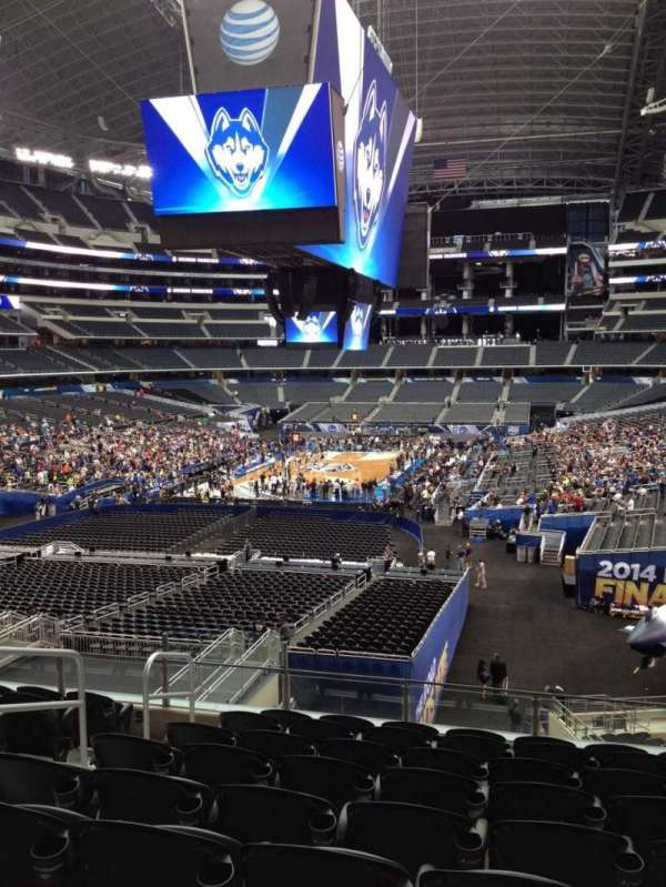 AT&T Stadium, vak: 246, rij: 5, stoel: 18