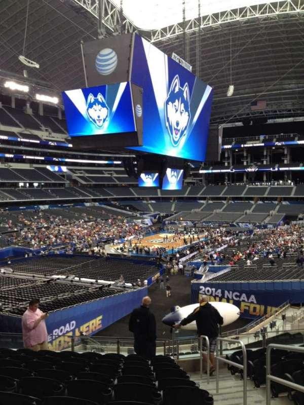 AT&T Stadium, vak: 245, rij: 9, stoel: 9