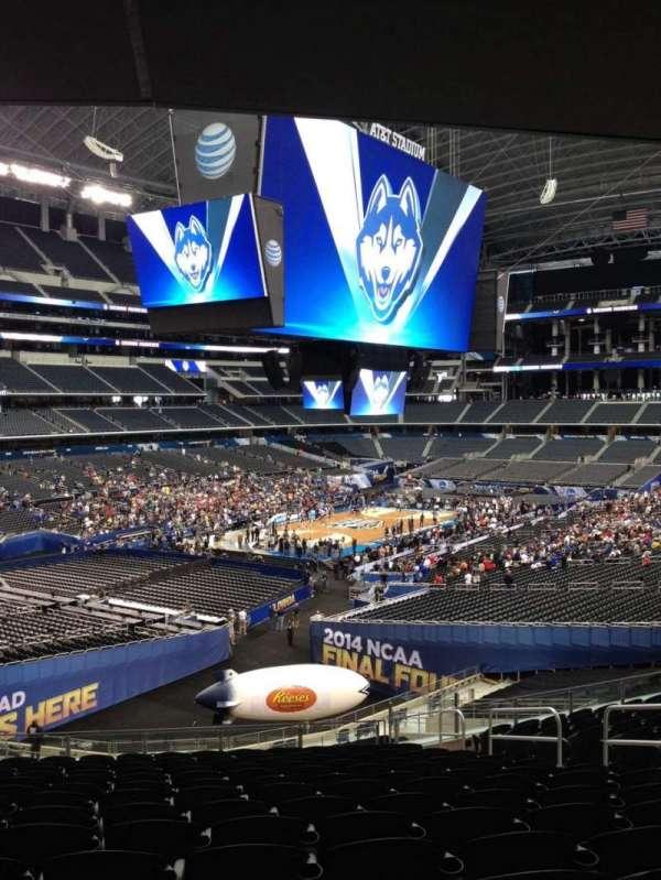 AT&T Stadium, vak: 244, rij: 11, stoel: 2