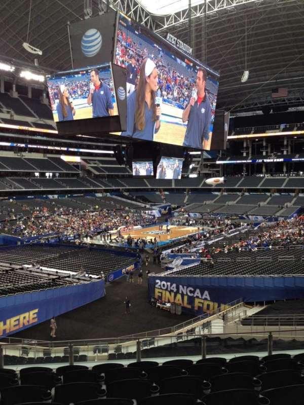 AT&T Stadium, vak: 241, rij: 11, stoel: 9