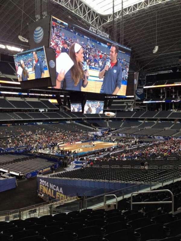 AT&T Stadium, vak: 240, rij: 14, stoel: 8