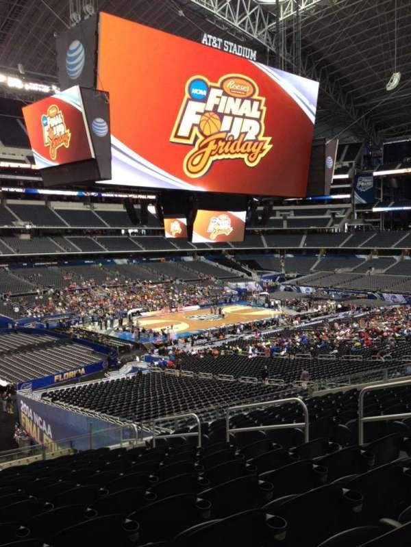 AT&T Stadium, vak: C239, rij: 1, stoel: 2