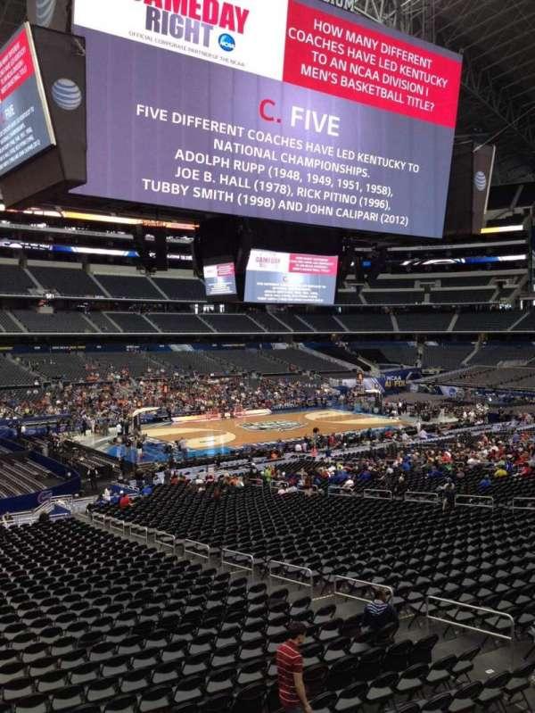 AT&T Stadium, vak: C238, rij: 3, stoel: 3
