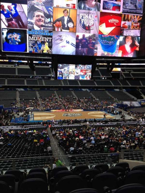 AT&T Stadium, vak: C235, rij: 9, stoel: 39