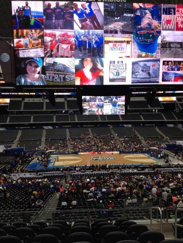 AT&T Stadium, vak: C233, rij: 8, stoel: 11