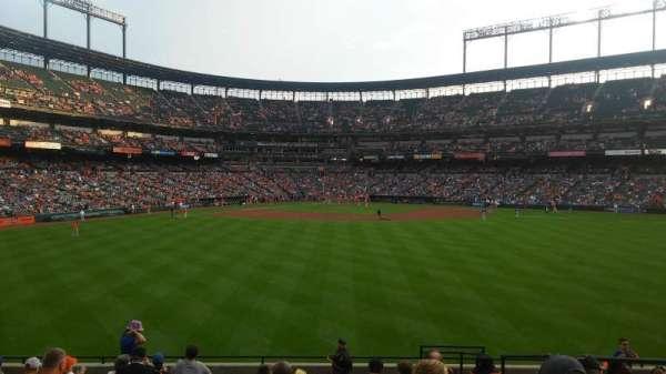 Oriole Park at Camden Yards, vak: 94, rij: 14, stoel: 5