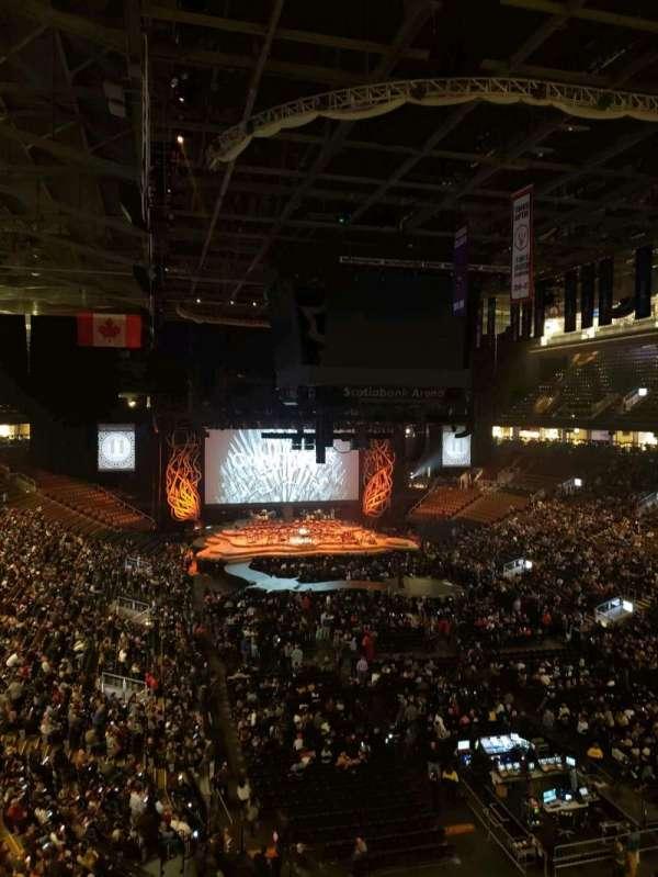 Scotiabank Arena, vak: 304, rij: 2, stoel: 24