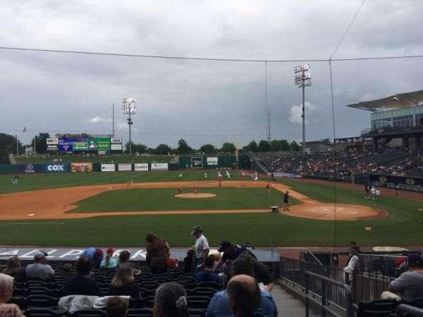 Arvest Ballpark, vak: 115, rij: S, stoel: 1