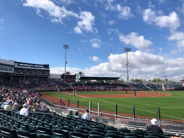Goodyear Ballpark, vak: 211, rij: M, stoel: 2