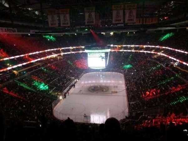 PPG Paints Arena, vak: 227, rij: N, stoel: 11