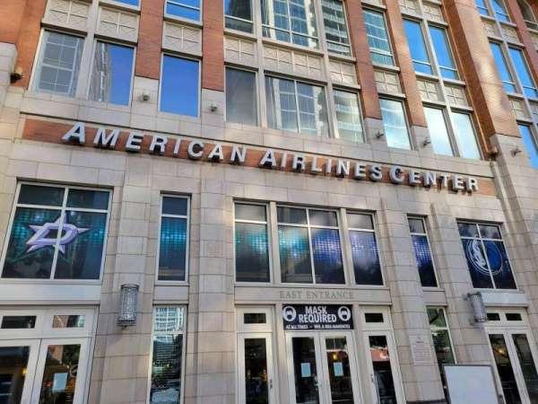 American Airlines Center, vak: East Entrance