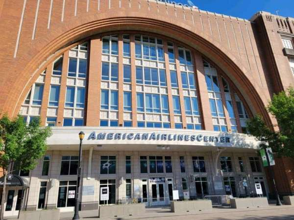 American Airlines Center, vak: North Entrance