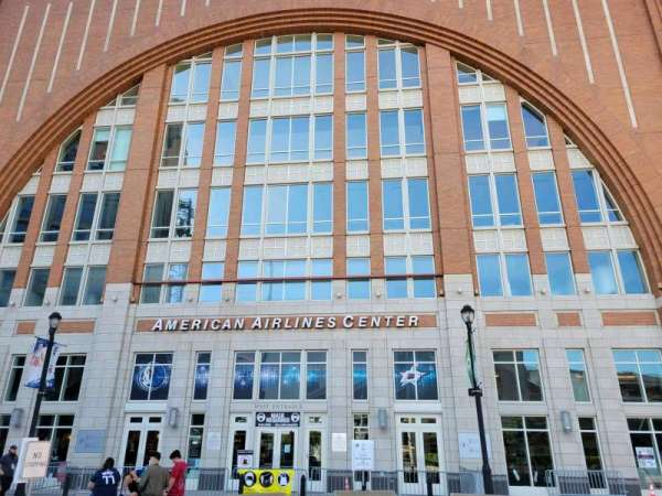 American Airlines Center, vak: West Entrance
