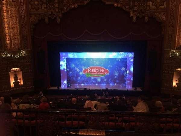 The Fabulous Fox Theatre (St. Louis), vak: Lower Balcony 4, rij: A, stoel: 102