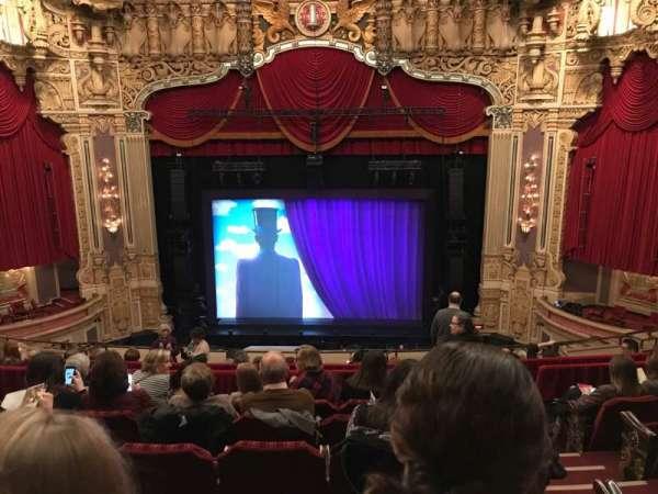 Oriental Theatre, vak: Balc-c, rij: K, stoel: 309