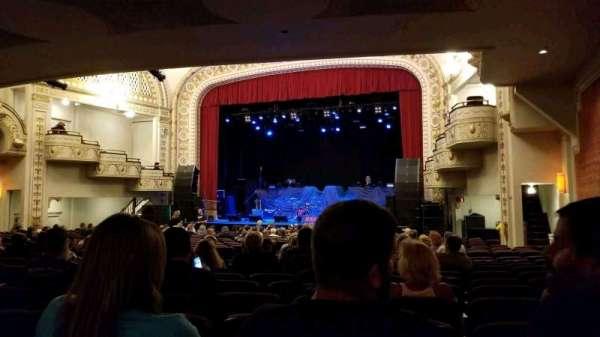 Palace Theatre (Greensburg), vak: ORCH R, rij: V, stoel: 8