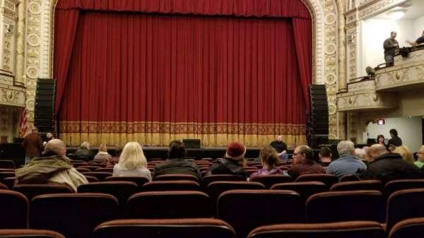 Palace Theatre (Greensburg), vak: ORCH C, rij: L, stoel: 7