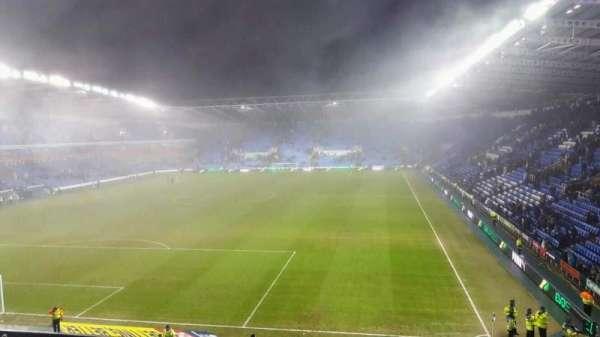 Madejski Stadium, vak: R27, rij: AA, stoel: 63