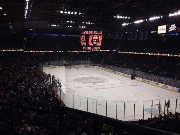 Allstate Arena, vak: 208, rij: C, stoel: 1
