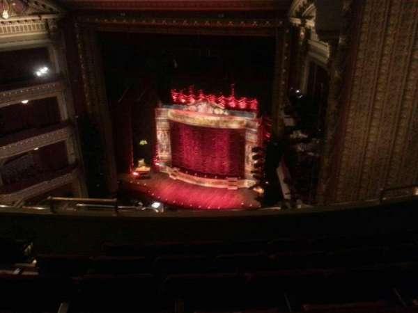 CIBC Theatre, vak: Balcony R, rij: F, stoel: 12