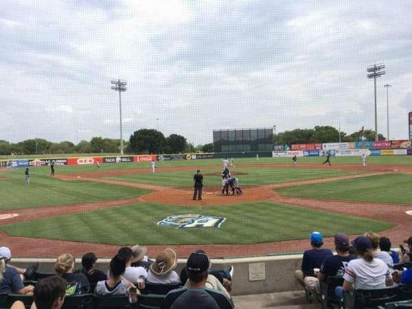 Nelson W. Wolff Municipal Stadium, vak: 100, rij: H, stoel: 1