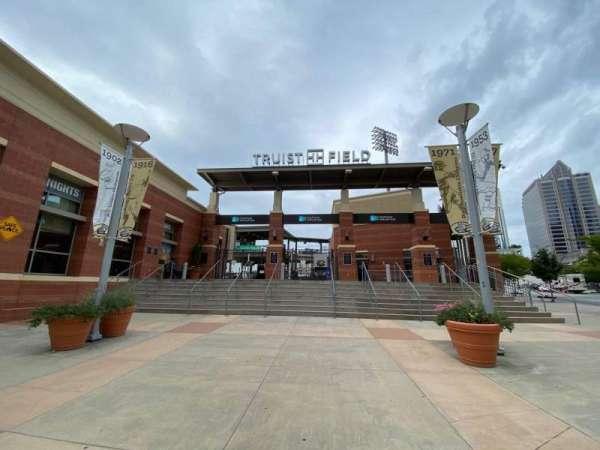 Truist Field, vak: Main Entrance