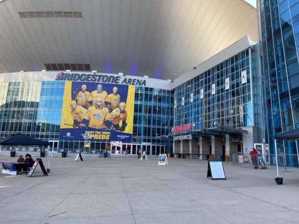 Bridgestone Arena, vak: Main Entrance