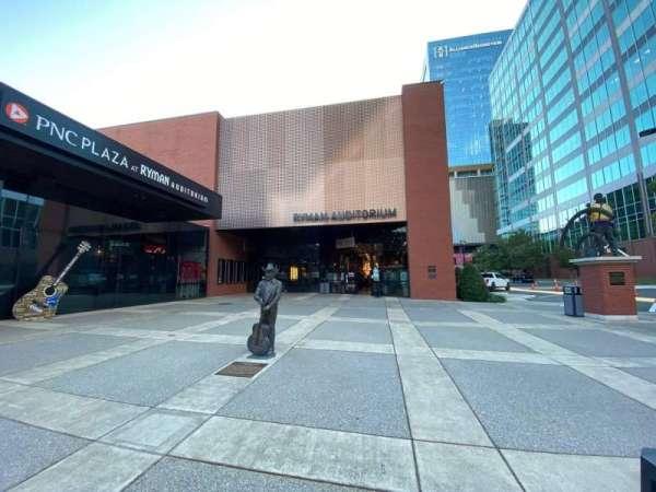 Ryman Auditorium, vak: Main Entrance
