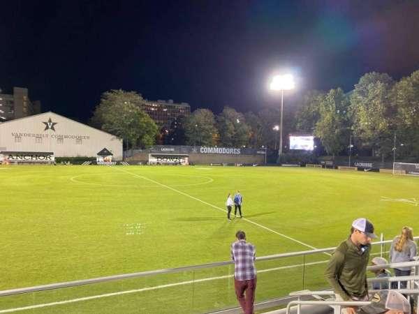 Vanderbilt Soccer & Lacrosse Complex, vak: G, rij: 6