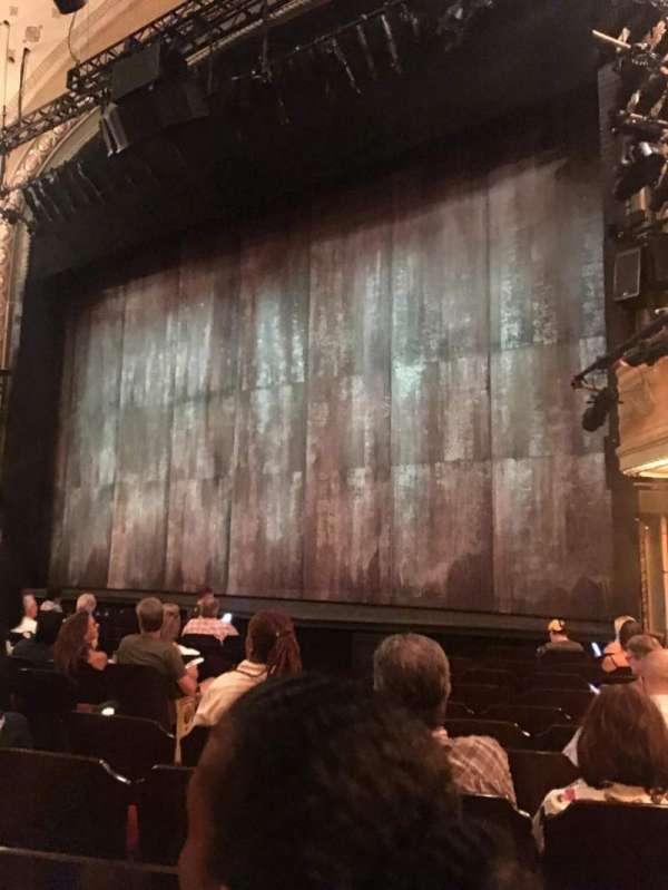 Bernard B. Jacobs Theatre, vak: ORCH, rij: K, stoel: 14