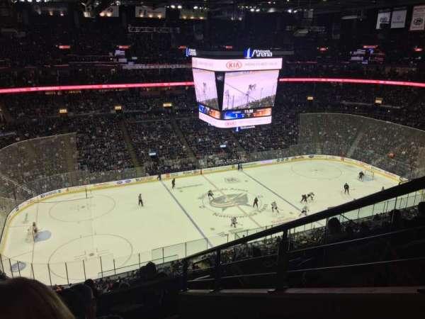 Nationwide Arena, vak: 219, rij: H, stoel: 1