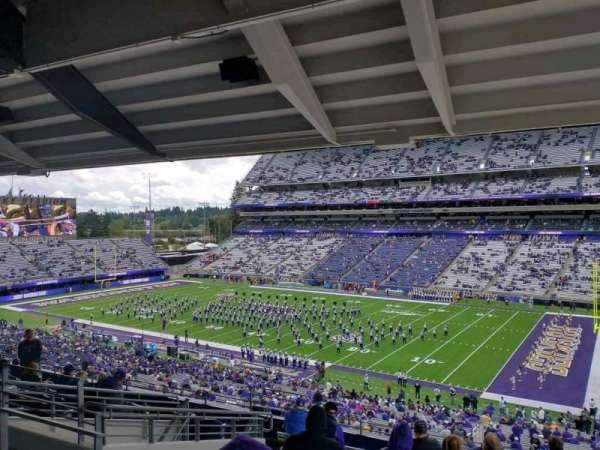 Husky Stadium, vak: 225, rij: 10, stoel: 16
