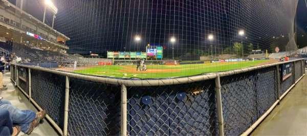 PNC Field, vak: Infield Box 20, rij: 1, stoel: 6