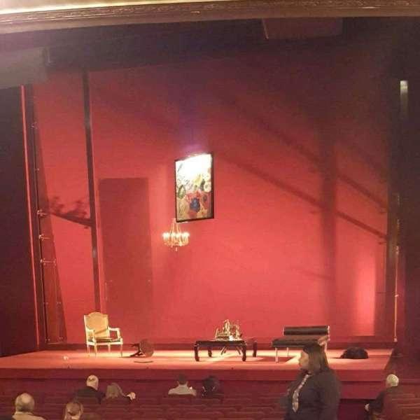 Ethel Barrymore Theatre, vak: Orch, rij: P, stoel: 2