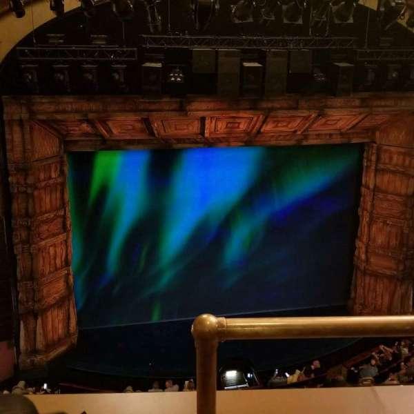 St. James Theatre, vak: Balcony, rij: B, stoel: 1