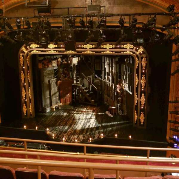 American Airlines Theatre, vak: Mezz, rij: D, stoel: 104