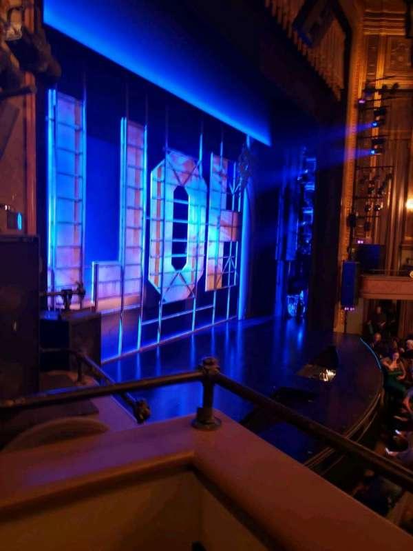 Nederlander Theatre, vak: Left Box, rij: E, stoel: 2
