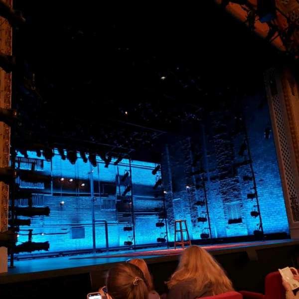 Cort Theatre, vak: Orch, rij: C, stoel: 9
