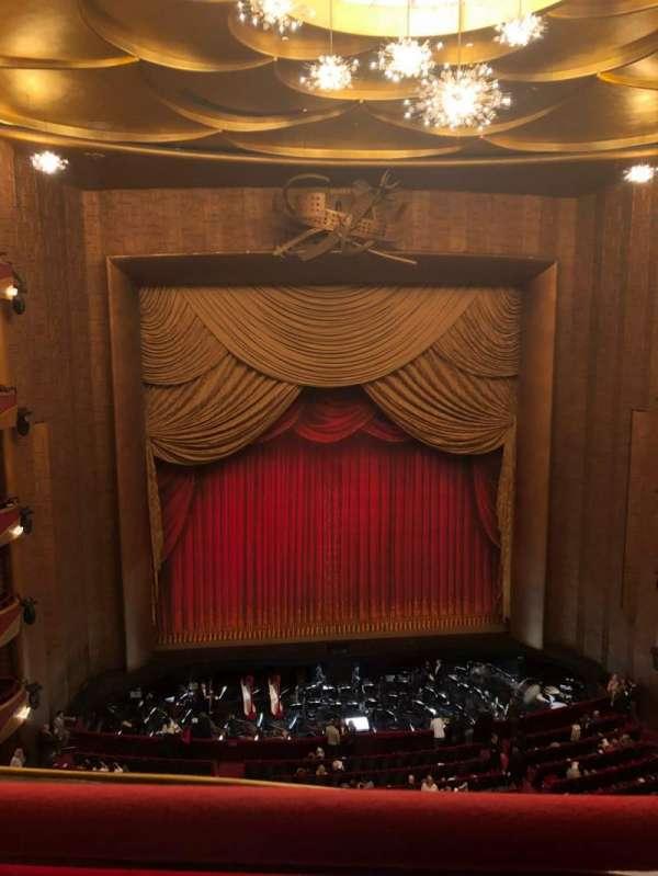 Metropolitan Opera House - Lincoln Center, vak: Balcony, rij: A, stoel: 115