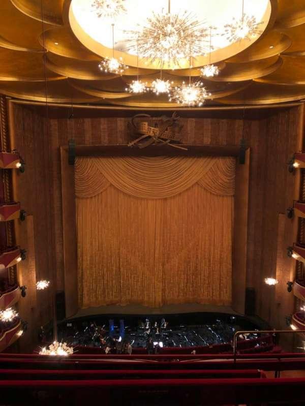 Metropolitan Opera House - Lincoln Center, vak: Balcony, rij: D, stoel: 103