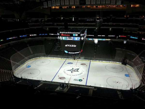 American Airlines Center, vak: 325, rij: R, stoel: 5