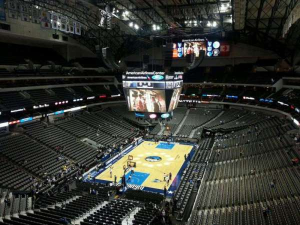 American Airlines Center, vak: 316, rij: C, stoel: 12