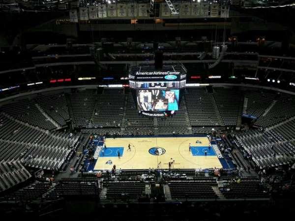 American Airlines Center, vak: 326, rij: R, stoel: 11